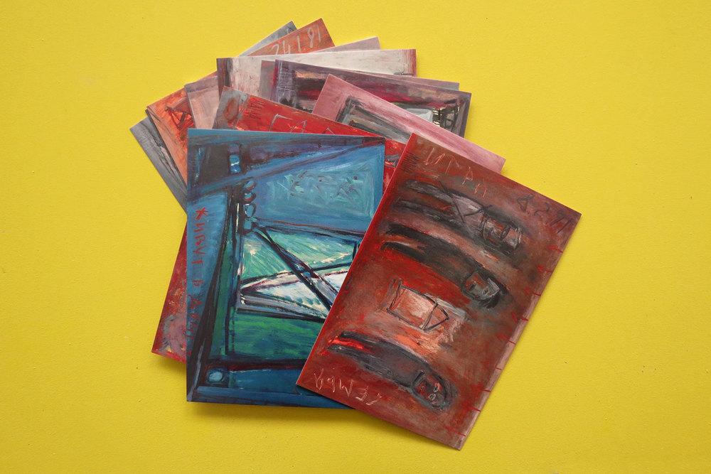 מאשה ברמן עיצוב קטלוג עבודות ציורי שמן