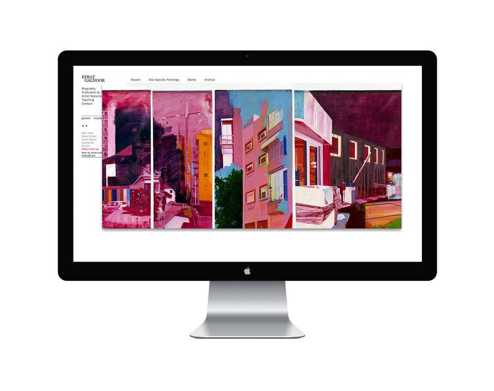 Efrat Galnoor artist website