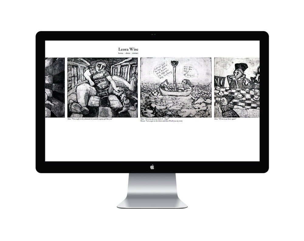 ליאורה וייס אמנית אתר אינטרנט