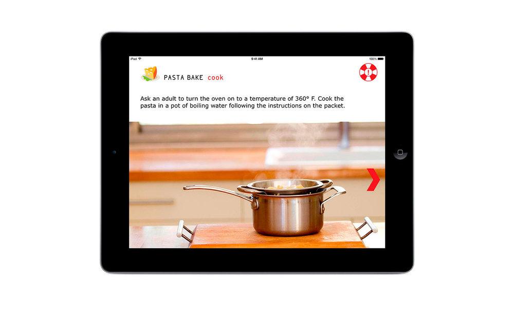 Copy of WeCookit Interactive cooking platform for kids app Design