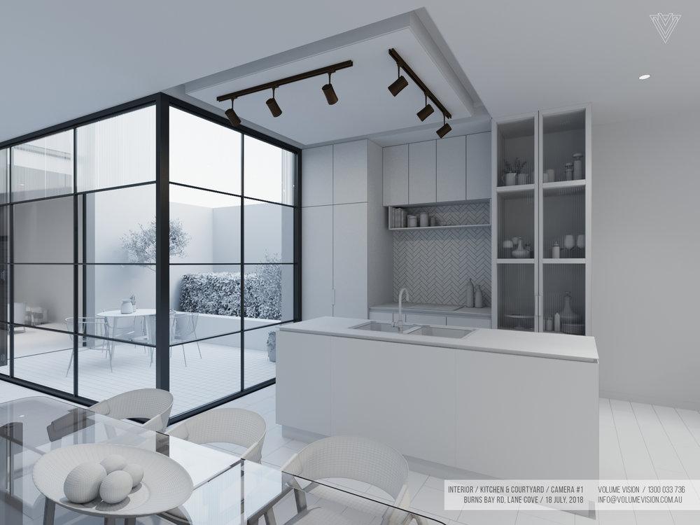 Interior_Kitchen & Courtyard _Burns_Bay_Camera_#1.jpg