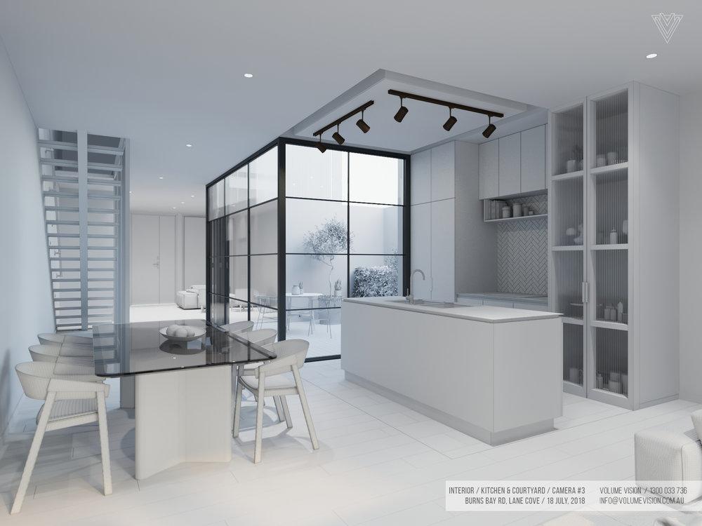 Interior_Kitchen & Courtyard _Burns_Bay_Camera_#3.jpg
