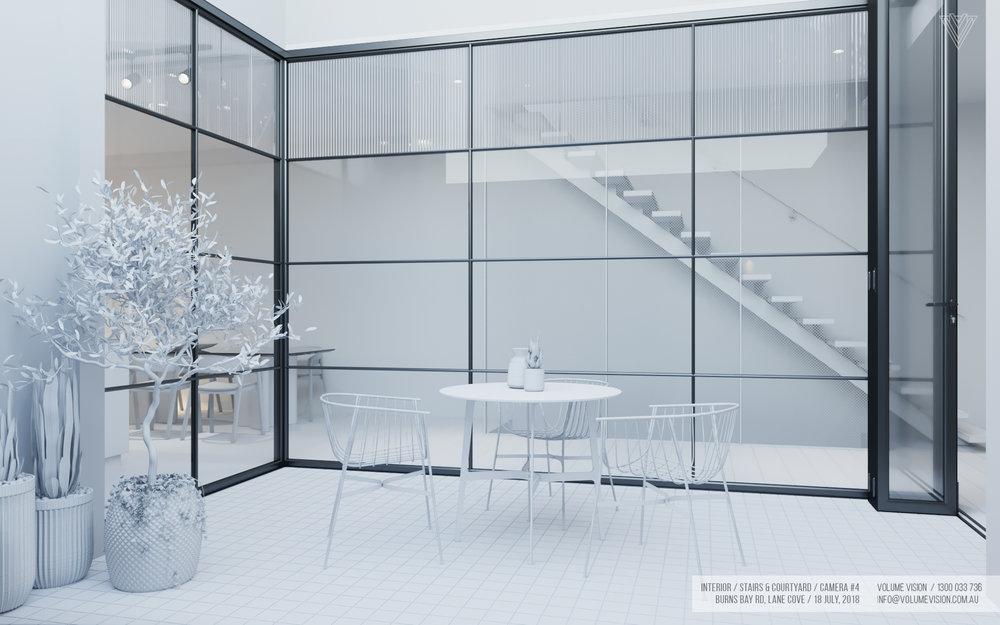 Interior_Stairs & Courtyard Backyard_Burns_Bay_Camera_#4.jpg