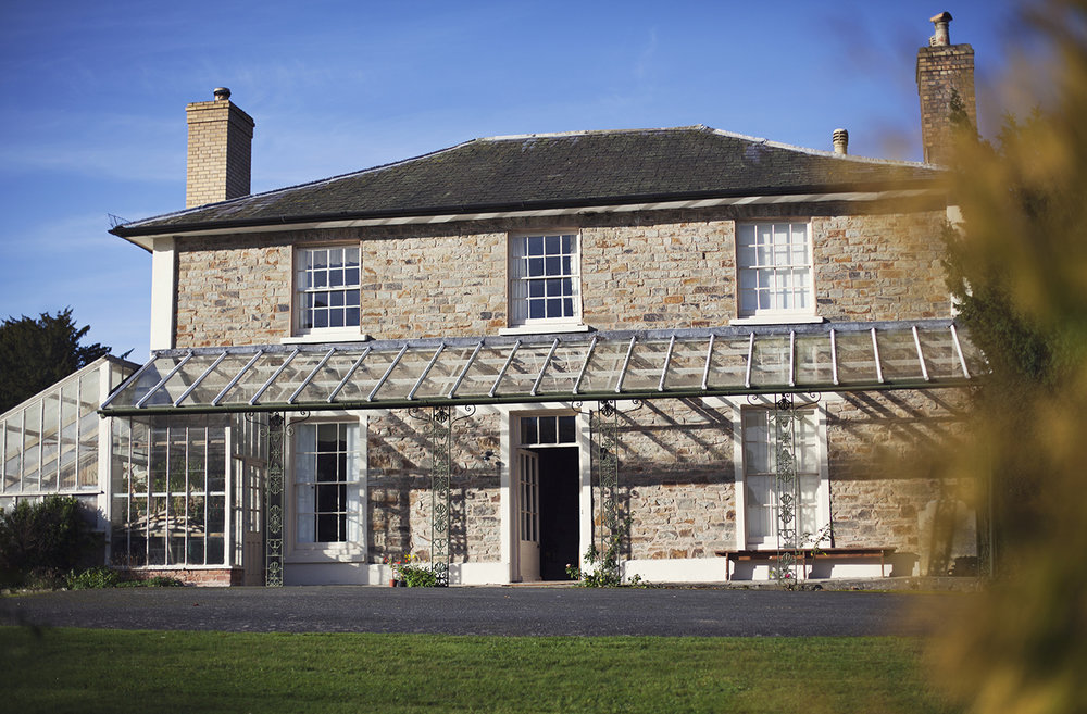 Huntington Court bed and breakfast accommodation in Herefordshire