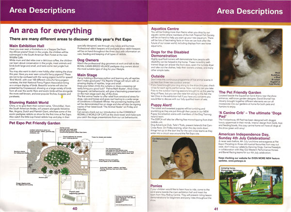 Pet Care Magazine, insert of 27 June 2010 Irish Daily Star   Click on the image or   here   to see larger size (PDF document).