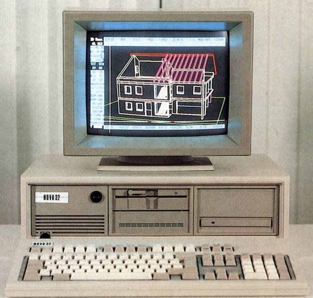 1987 Nemetschek Allplan Allplan V3 preview © Nemetschek Allplan Deutschland GmbH