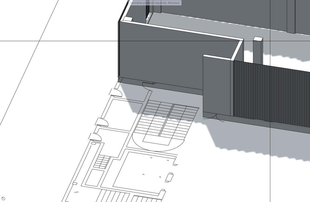 Allplan permite trabajar combinando elementos CAD tradicionales con entidades BIM
