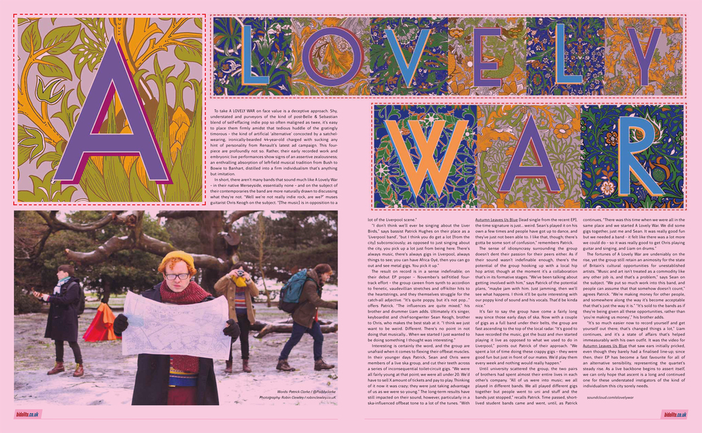 Double Page Spread