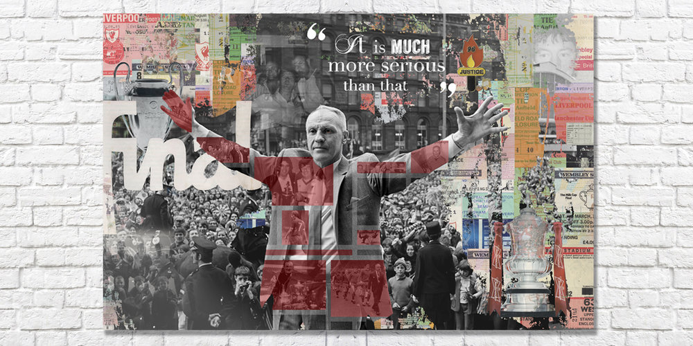 Bill Shankly Canvas