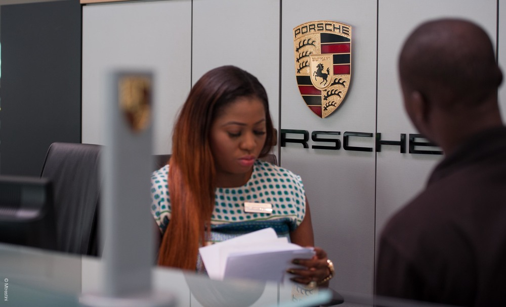 Porsche Showroom, Lagos, Nigeria