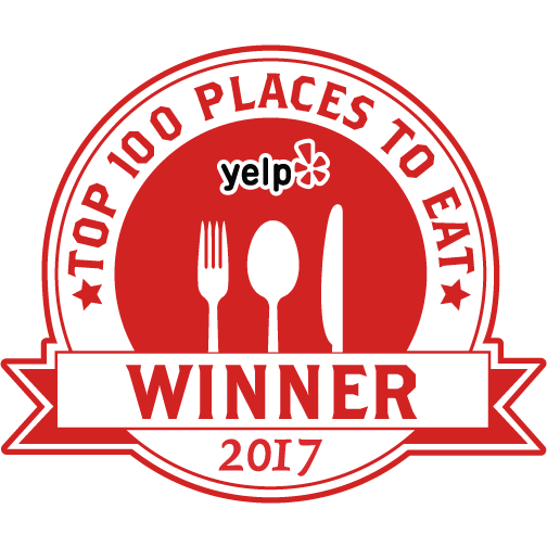 we are #46 nationwide in the Yelp system