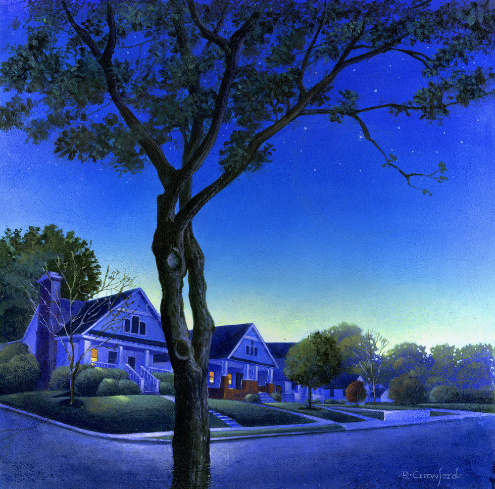 """Suburban Night"" SOLD"