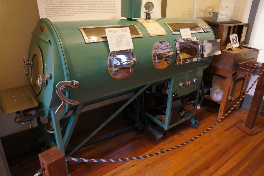 An iron lung