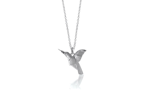 lisa hummingbird angel ladies jewellery silver in necklace
