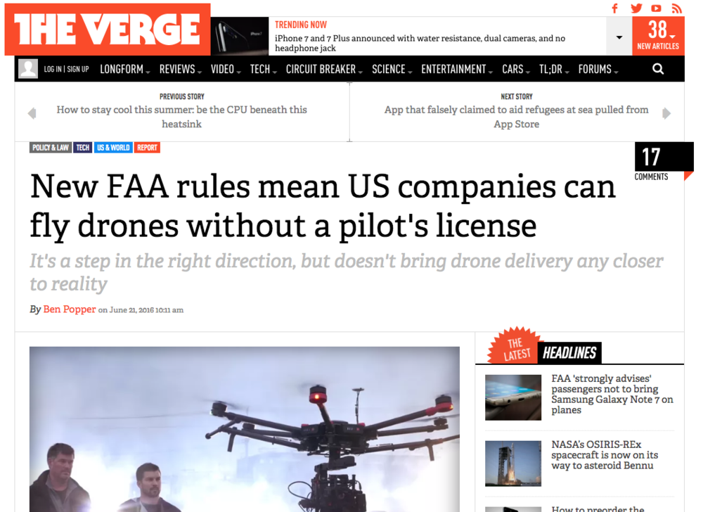 Drone laws for businesses