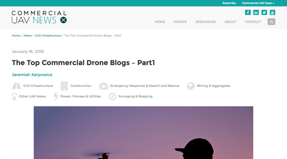 Drone regulations for business
