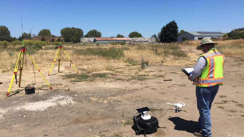 The Aerotas Mapping System is built around a drone that is highly reliably and produces survey-grade results