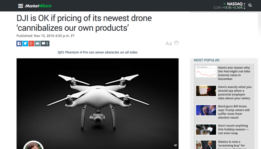 Drone consulting expertise