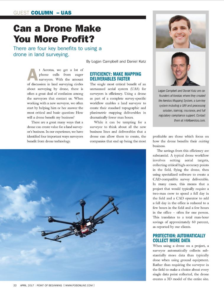 Commercial Drone Expertise and Intelligence | Aerotas: Drone
