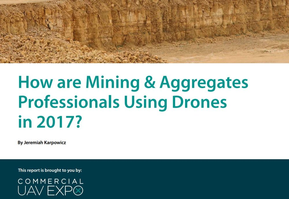Aggregate drone mining expert