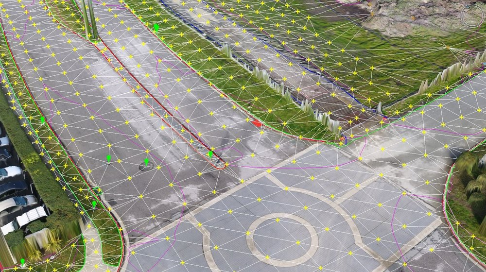 Land surveying drone software