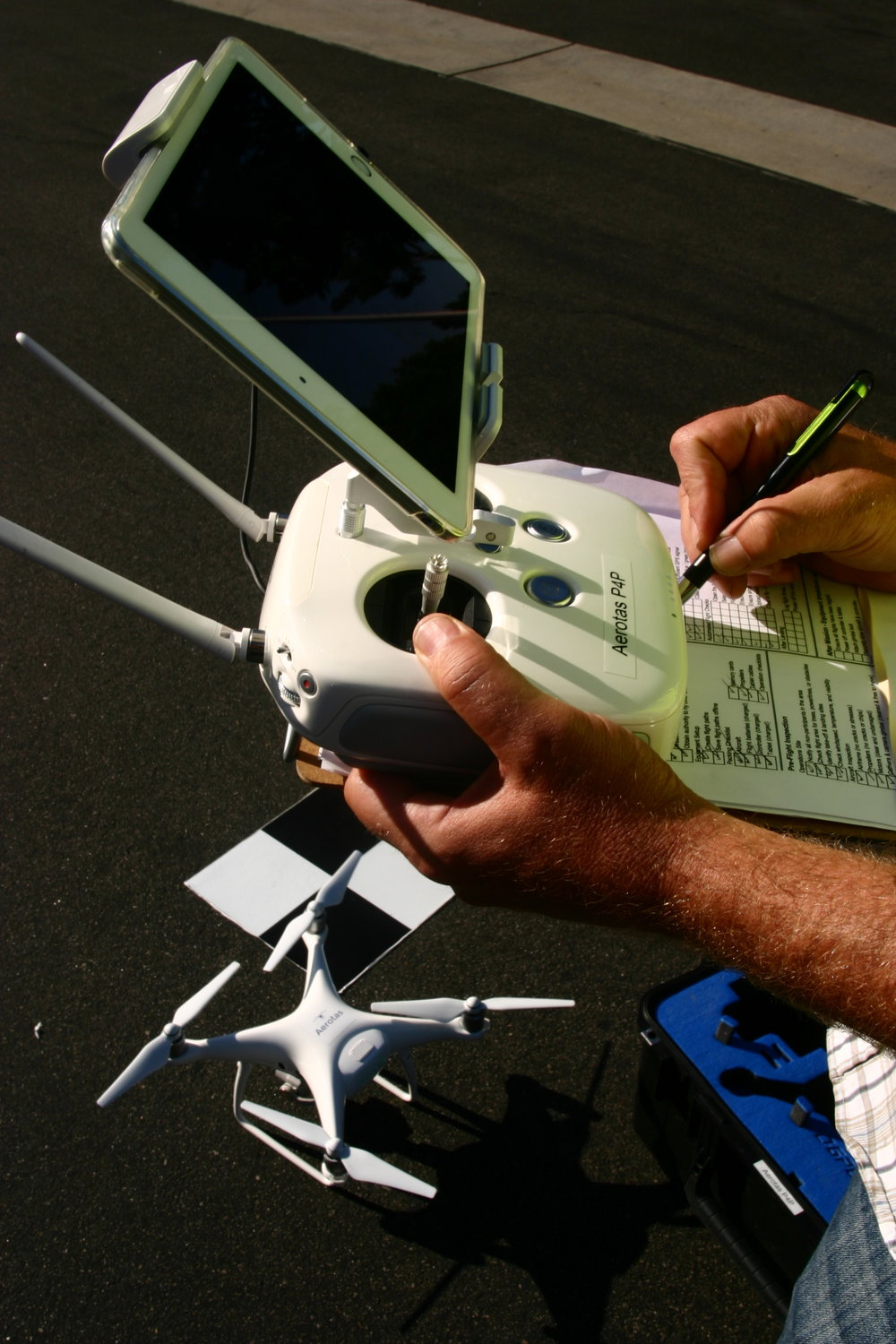Checklists are an essential part of drone survey mission