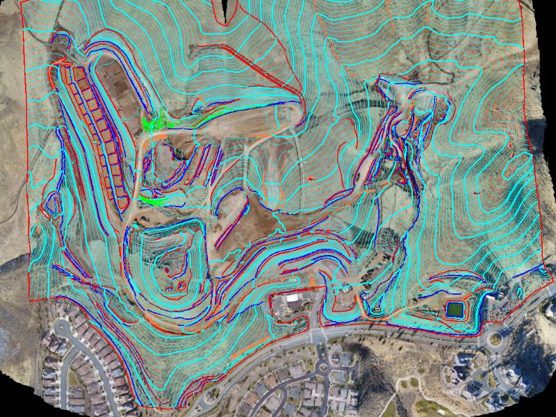 Drone topography surveyors