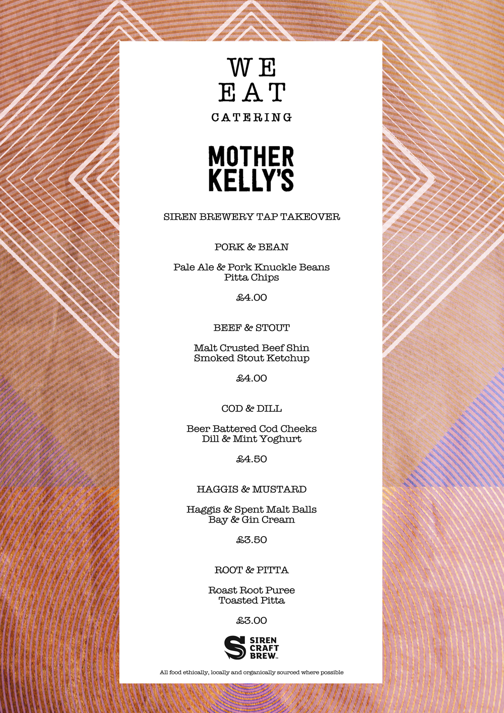 WE EAT X MOTHER KELLY'S