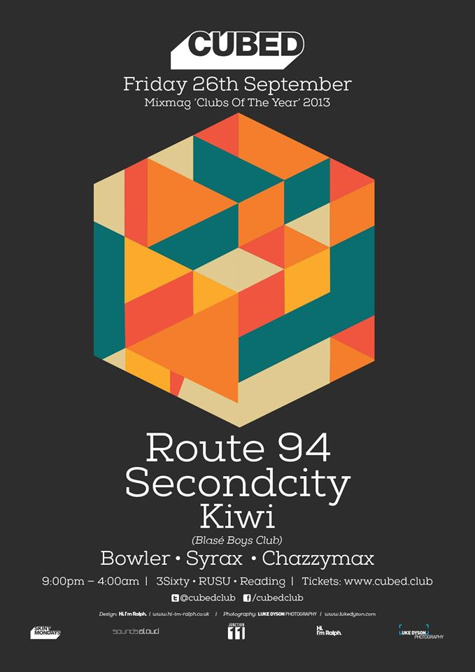 CUBED | ROUTE94+SECONDCITY+KIWI