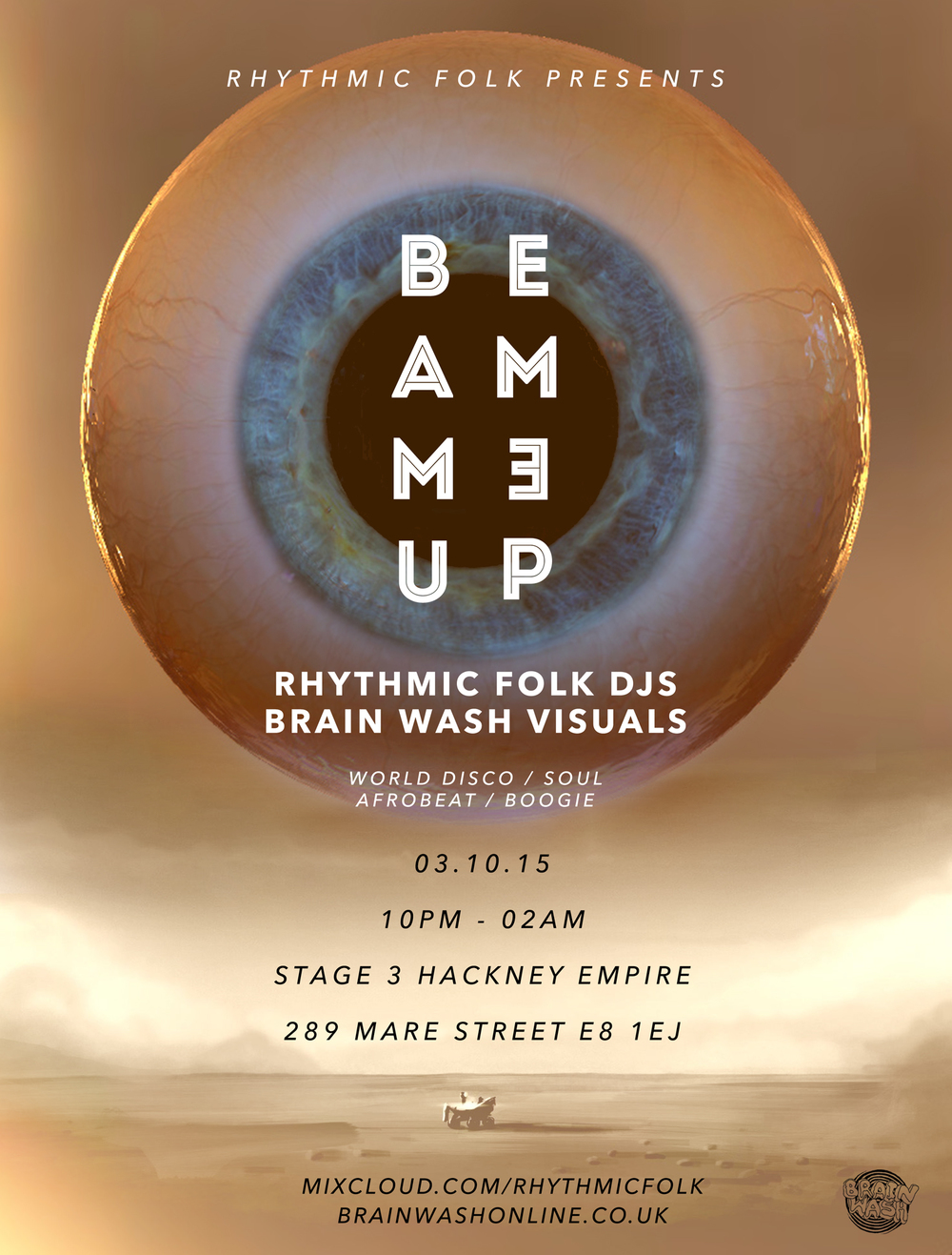 BEAM ME UP X BRAIN WASH