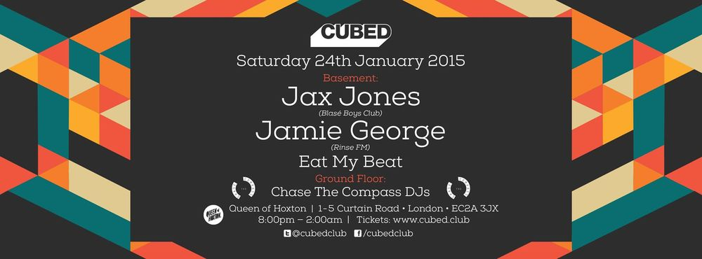 CUBED // JAX JONES+JAMIE GEORGE