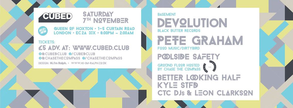 CUBED // DEVOLUTION+PETE GRAHAM+POOLSIDE SAFETY