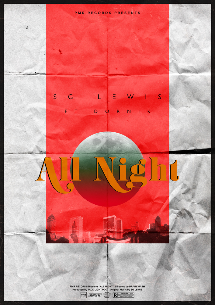 SG Lewis - All Night Poster