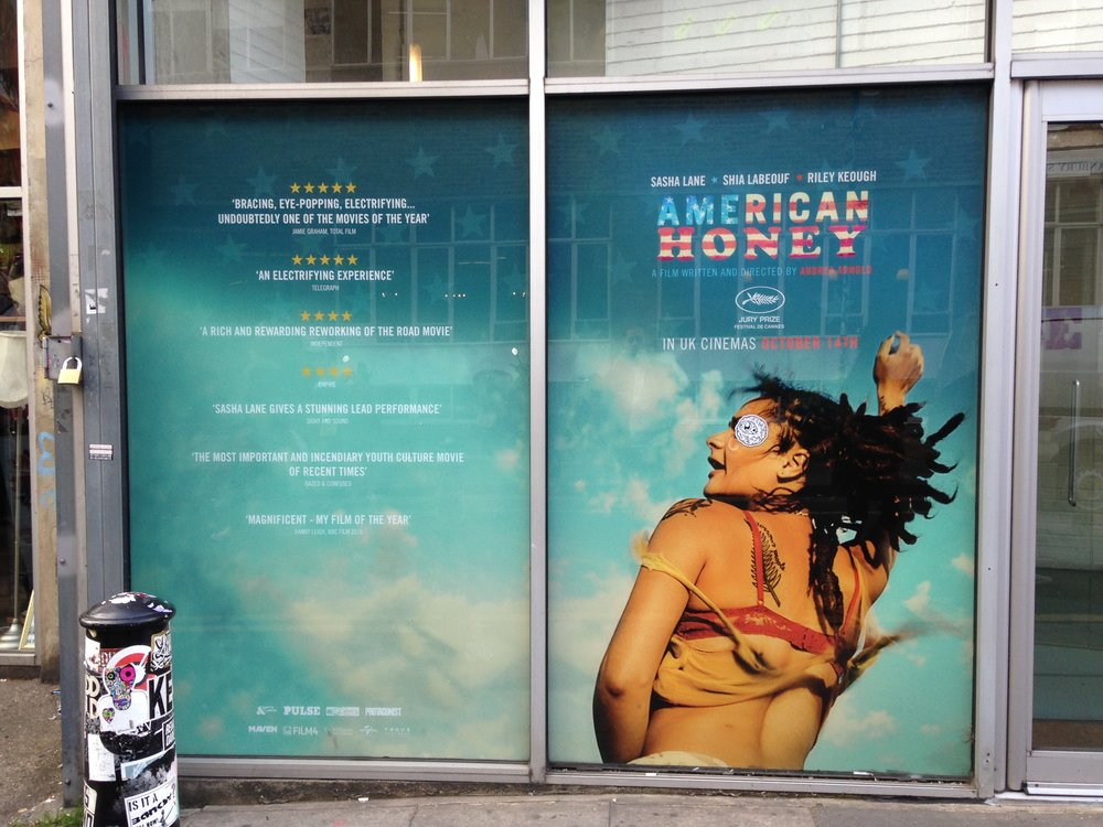 American Honey Window Display
