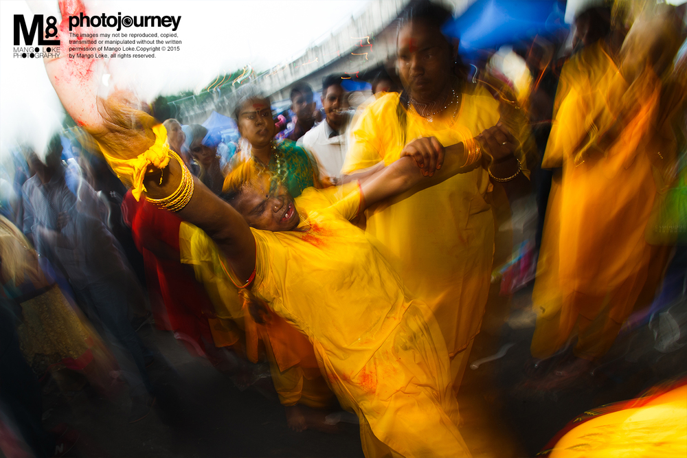 The Possession. 神明附身. Thaipusam  大宝森 2015  CANON1DX 16-35MM F2.8L 1/4 F11 ISO100