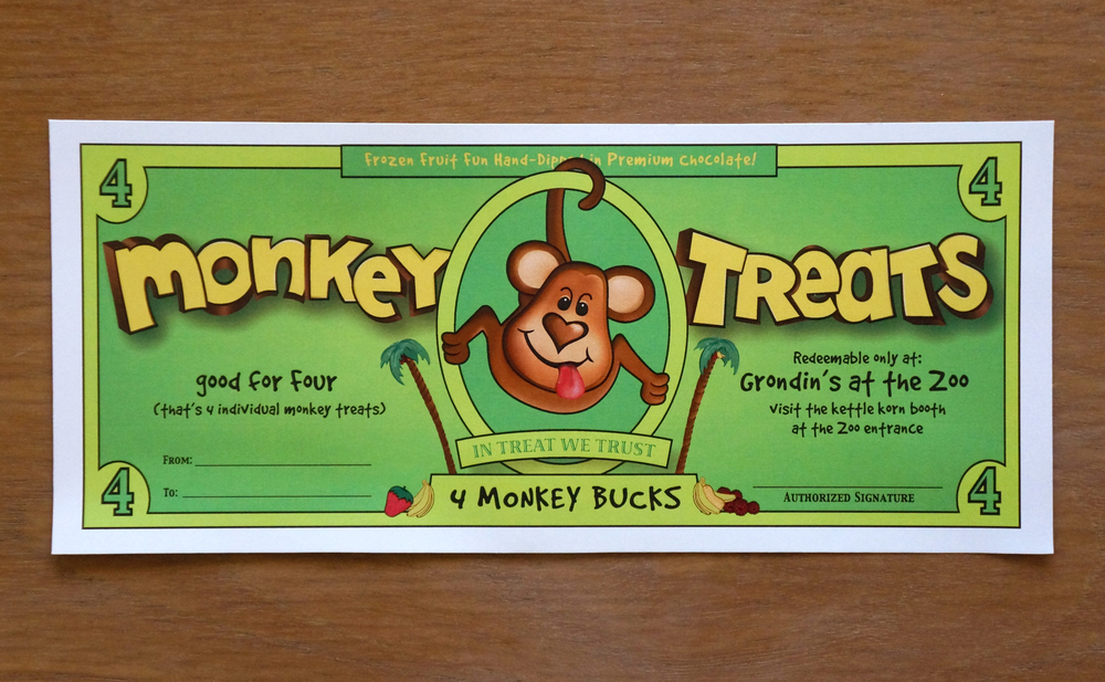 SommersetDesign_WorkPackaging_MonkeyTreatsBucks.JPG