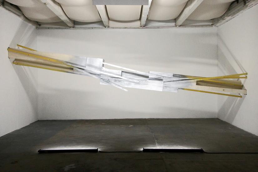 Vue de l'installation \ installation view. Les Ateliers du vent, Teenage Kicks Festival, Rennes, France, 2013