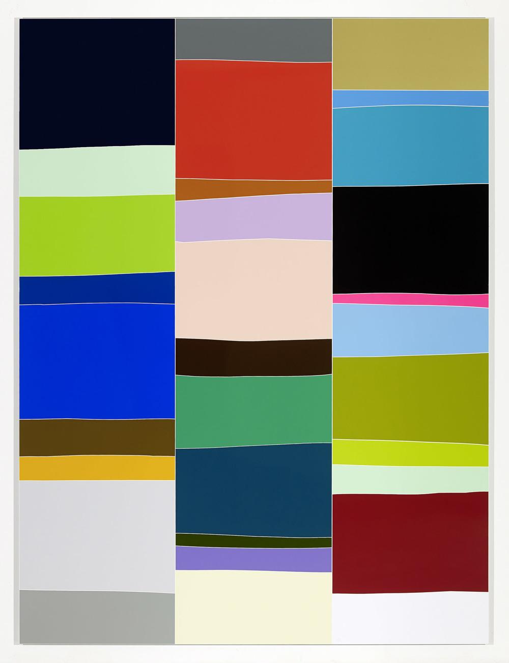 Sans titre (Vue d'atelier #7), 2014