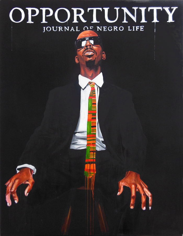 Can't a young NEGUS get money anymore?  , 2012.   Acrlique sur toile \ Acrylic on canvas.   178 x 138 cm