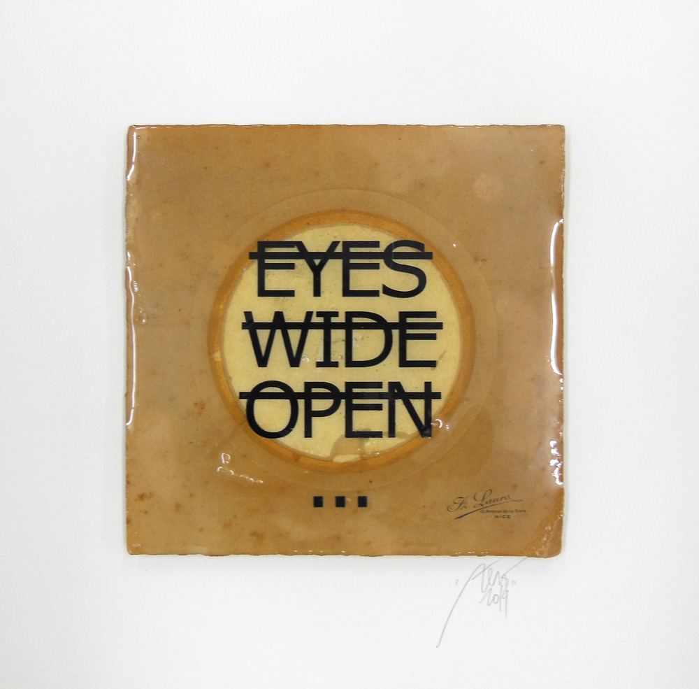 Sans titre (EYES WIDE OPEN...), 2014