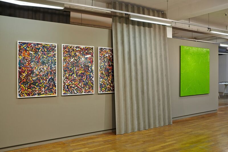 Serial Painter, Galeries Lafayette, Marseille, 2016Vue d'exposition \ Exhibition view