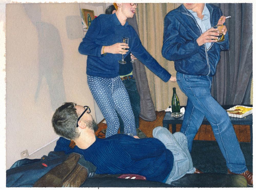 Fête n°83 (Party #83), 2017