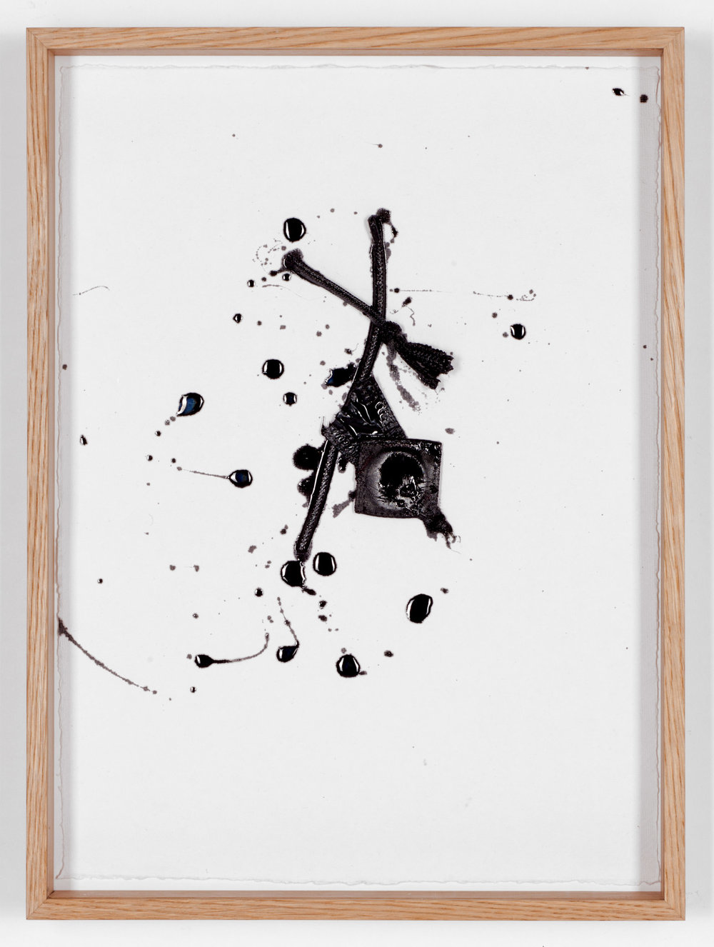 Line Drawing (black) #4, 2017