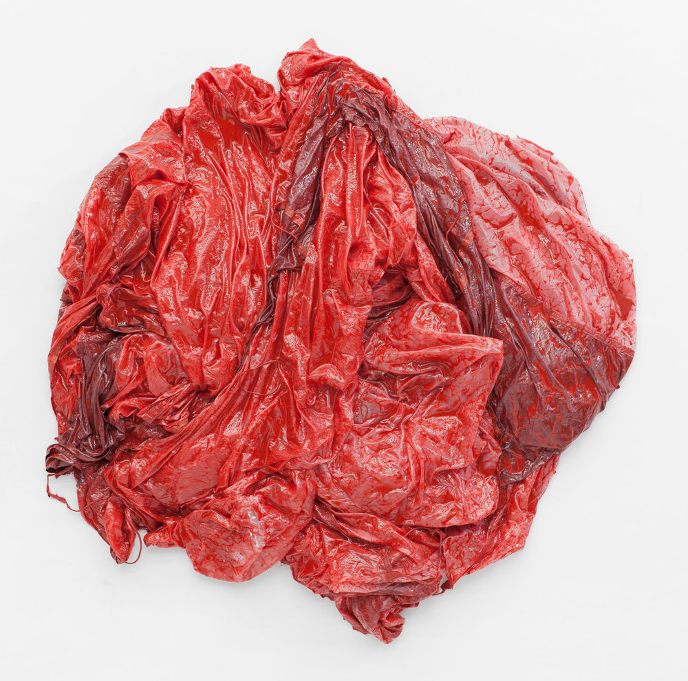 Parachute Object (red) #3, 2017