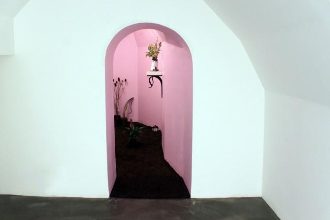 Vertige en terrain plat, Galerie Eva Meyer - Project Room, Paris, 2016