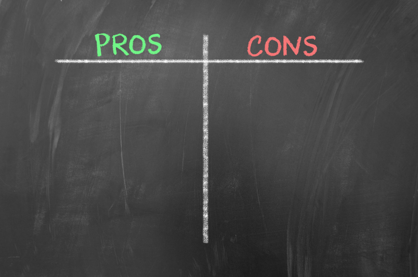 Pros and cons empty list on blackboard.jpg