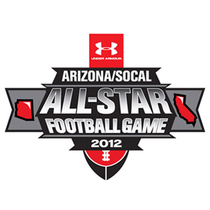 UNDER ARMOUR ARIZONA SO CAL ALL STAR FOOTBALL GAME