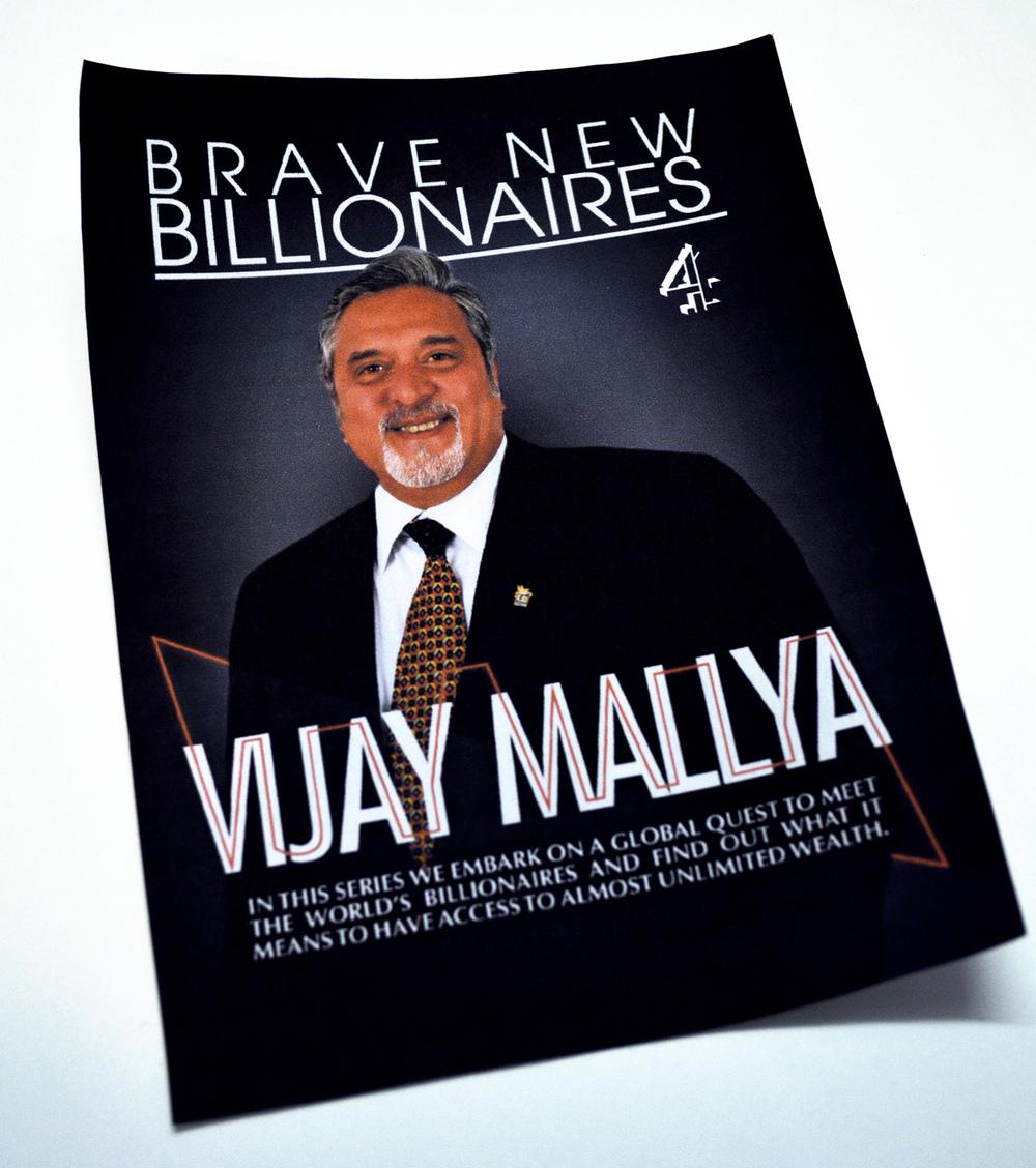 Billionares concept poster