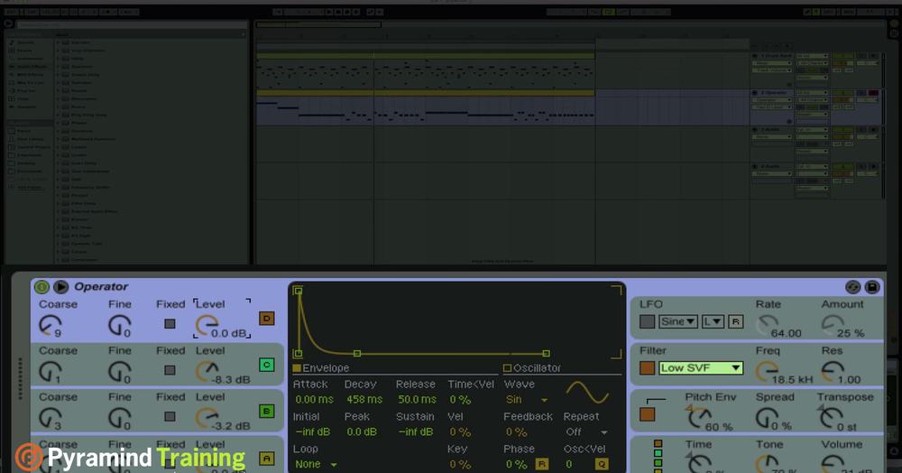 Ableton Live Sound Design - Basslines Part 1 - YouTube