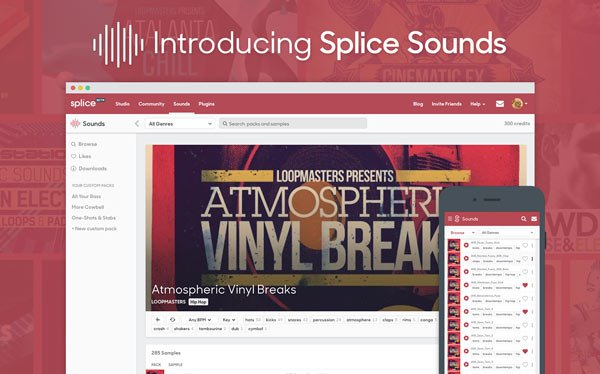 Introducing Splice Sounds